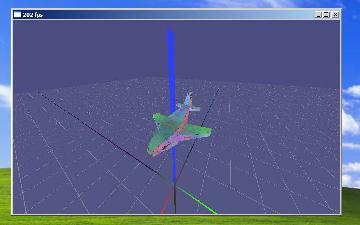 Брутельный самолетик в винде (202 fps)