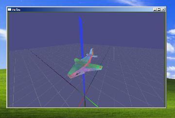 Брутальный самолётик в виндоусе
