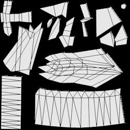 Dead Loop - новый самолетик - UV layout