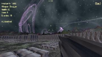 Red Shooter Skybox Test