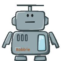 Главный герой Робби спокоен