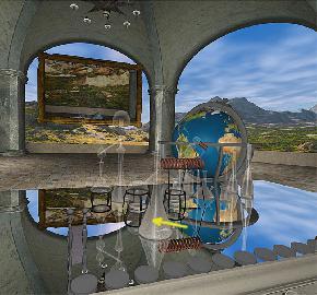 стенсил отражение