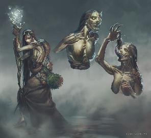 Болотная ведьма