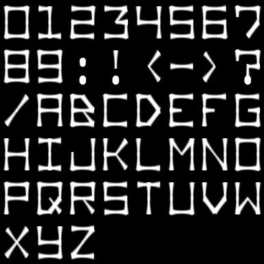 Procedural Font