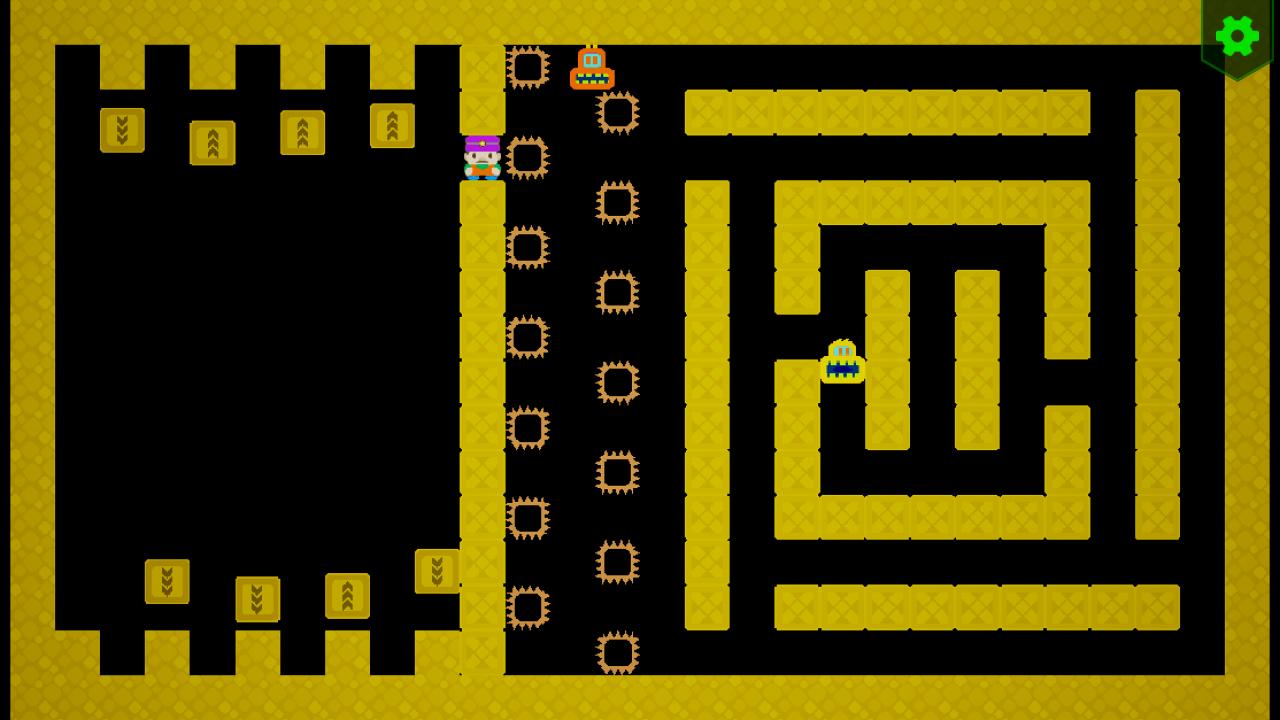 Screenshot 04 | Sokopango - аркада, улучшенный клон старой игры Pango для ДОС/Агат-9