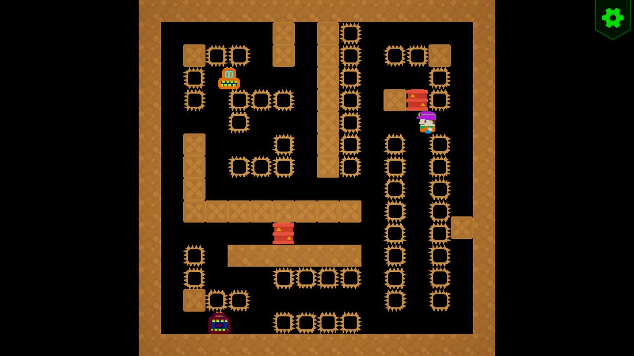 Screenshot 05 | Sokopango - аркада, улучшенный клон старой игры Pango для ДОС/Агат-9