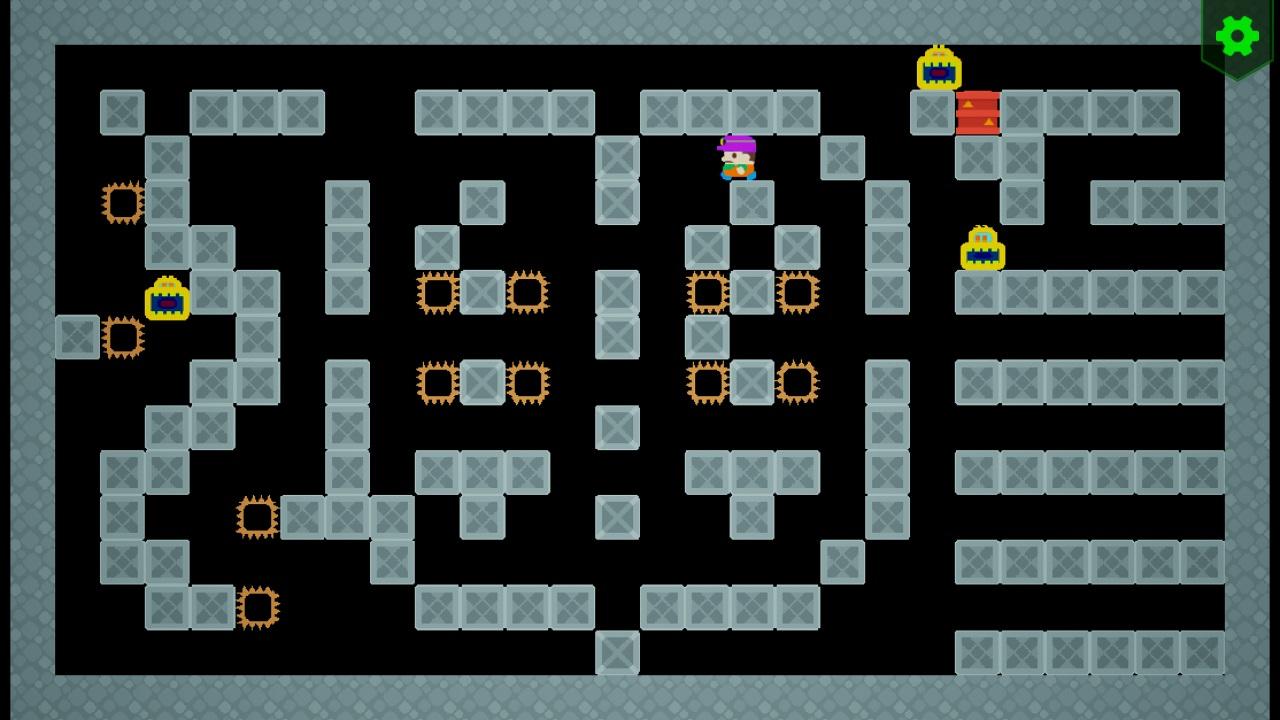 Screenshot 06 | Sokopango - аркада, улучшенный клон старой игры Pango для ДОС/Агат-9