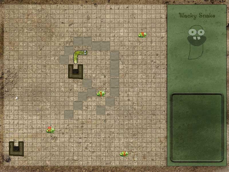 пртотип игрового экрана для игры вэки снейк