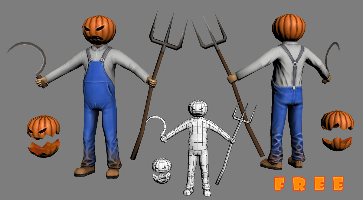 pumpkin-man | Gothix Art