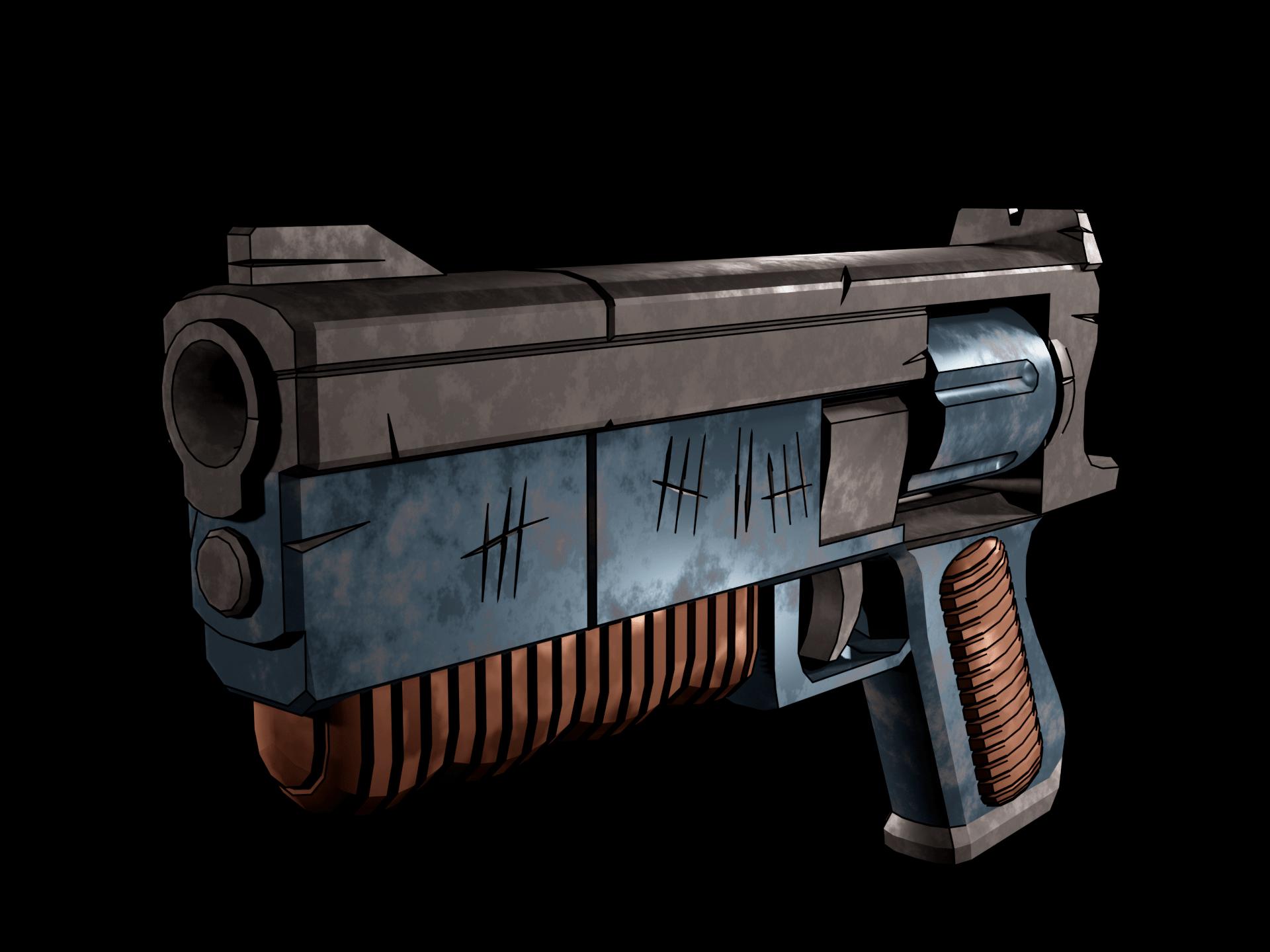 Fallout 1 Colt 6520 | 3D моделлер, ищу разовые заказы/команду инди разработчиков