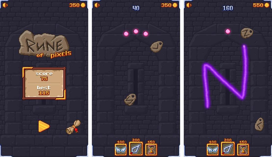 Rune of Pixels img2 | [GAME] Rune of Pixels - Новая аркада для андроида!