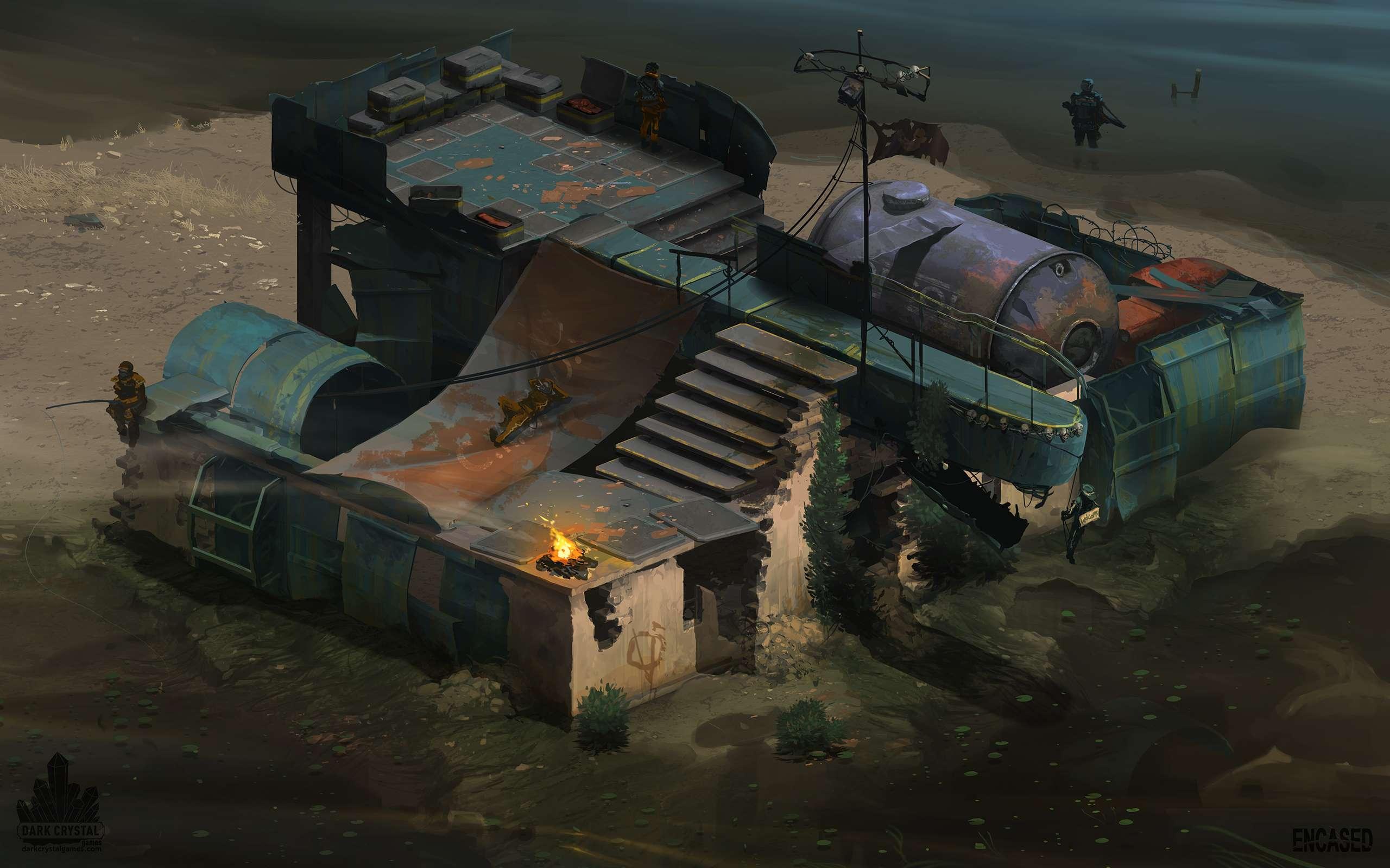 Raiders_Camp | The Dark Lot / Hospital Bed / Crumbling Towers / Scrollonoid / Redeemer | В разработке #91