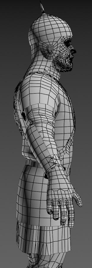 Ratik_Wire_Side | 3D модель ратника.