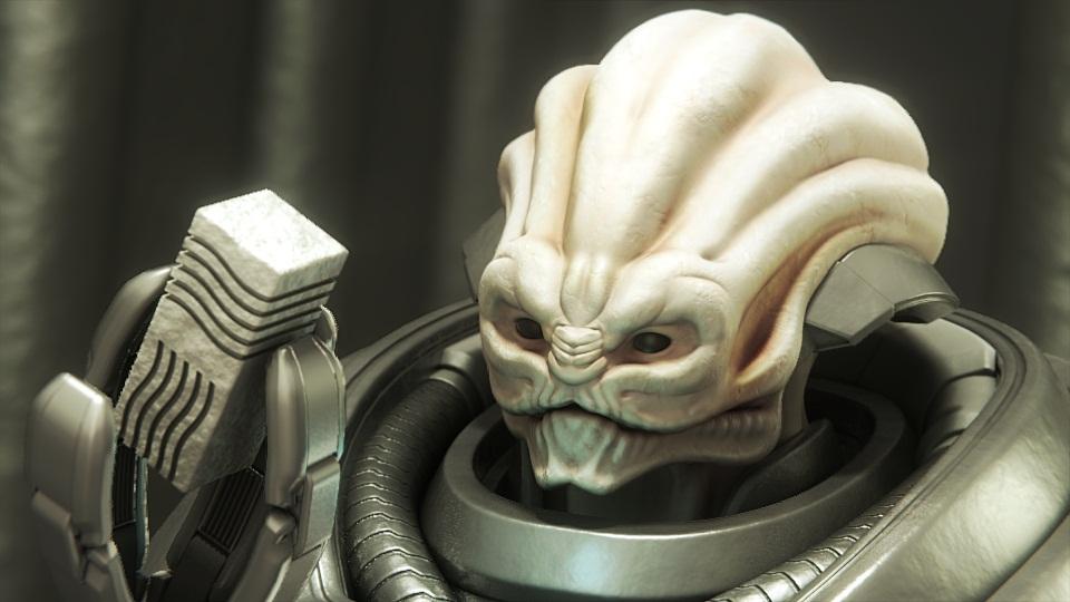 Alien WIP | Скромные модельки программиста