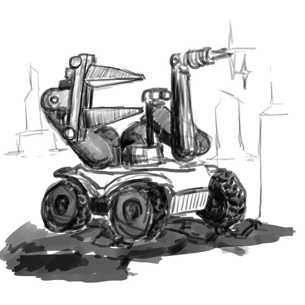ремонтник | Экспериментальная sci-fi RTS (переименовано)