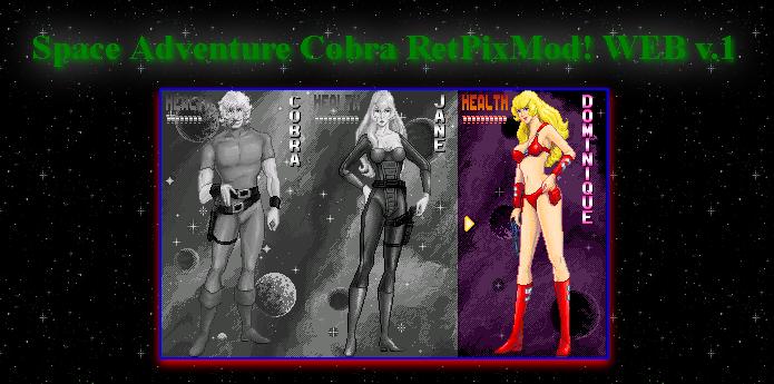 rpmw | Space Cobra RetPixMod