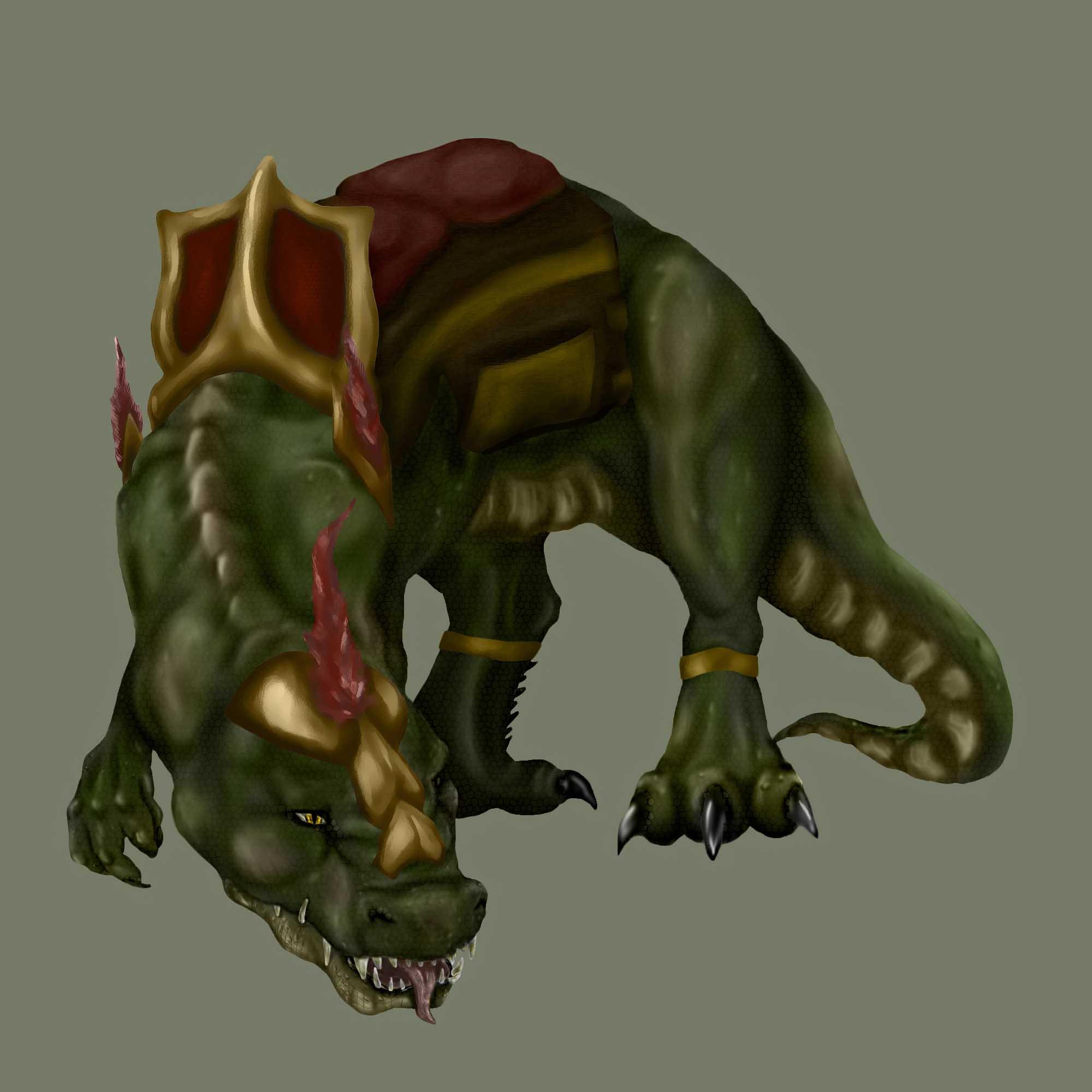 Динозавр | Tamagocha рисует