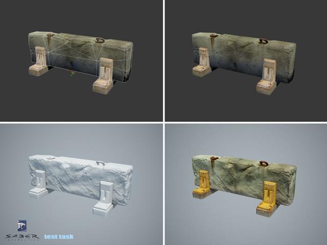 roadblock_tt | 3d моделлер