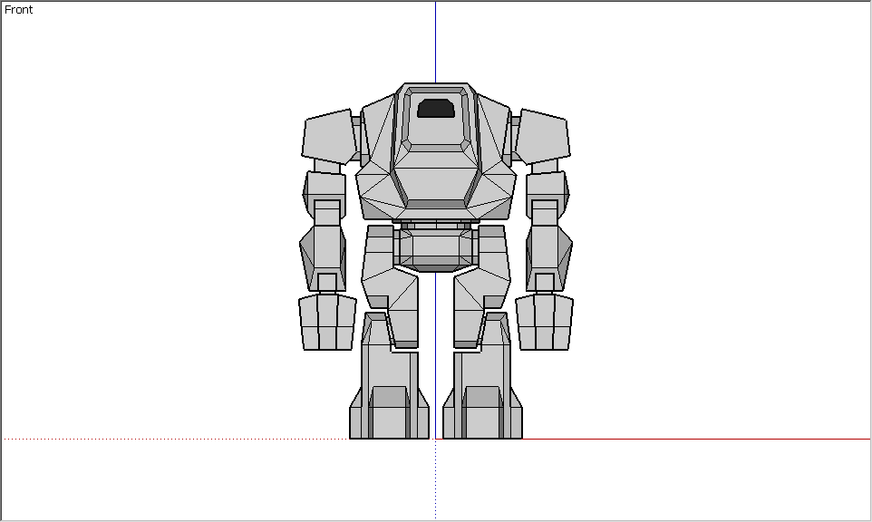 FPS Shooter - Robot #2 Draw [Front]