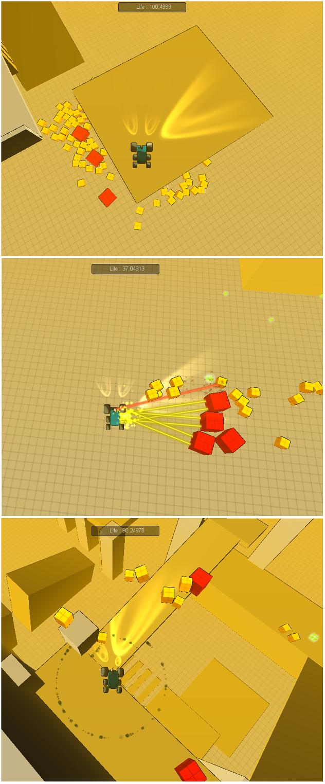 Скриншоты из первой демки | RobTek (TPS\Arcade\Puzzle)