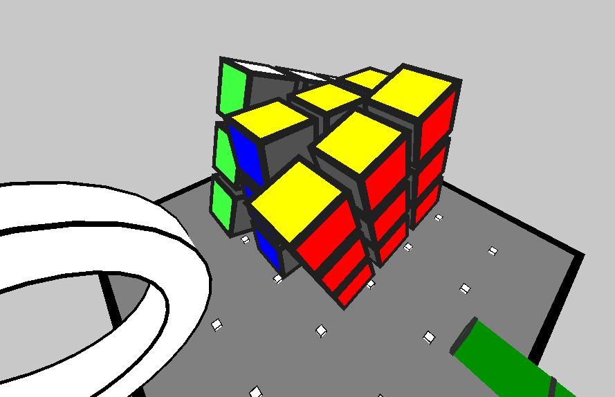 "RubiksCube3D | ""QapLite.h"" - простой графический header-движок для C++11, Direct3D9"