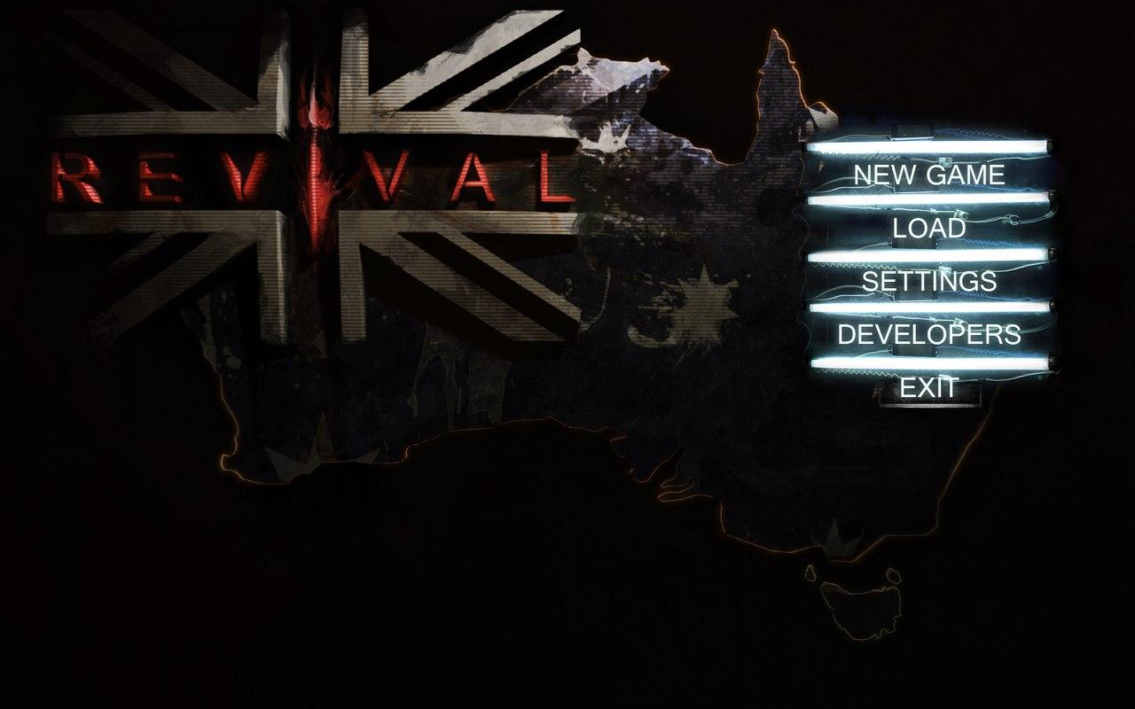 "Revival_main_menu | UPDATED 13/10/15 Postnuclear RPG (двиг. готов) ""REVIVAL"" Нужны люди в команду"
