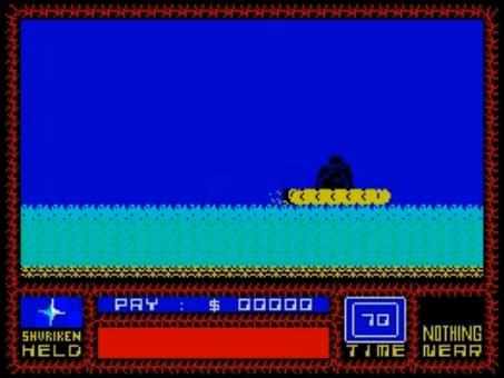 Saboteur 1 - прибытие на лодке   Saboteur 3 - ниндзя возвращается
