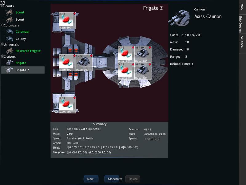 Сборка корабля | Tachyon Wars (MMO Space Strategy)