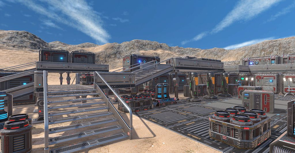 Sci_1 | 3d Artist - локации, окружение и объекты.