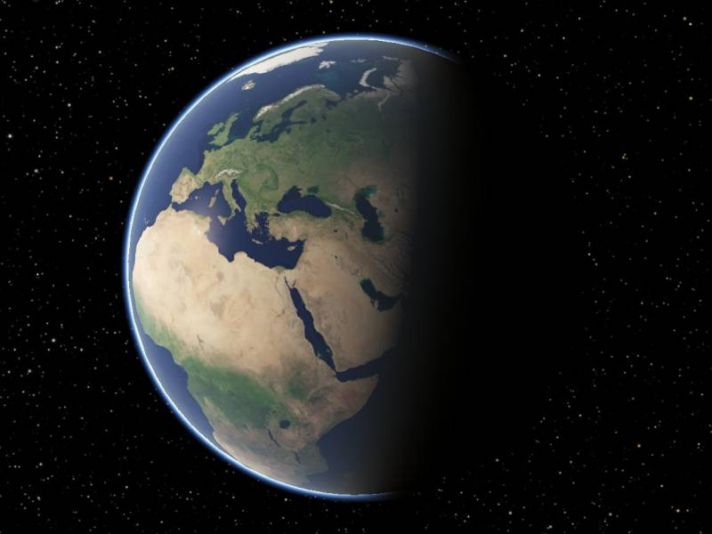 scr00020 | Атмосфера: вид из космоса и с поверхности