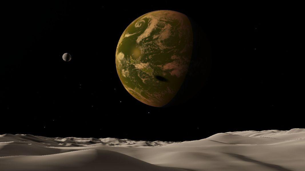 scr00050   Космический симулятор SpaceEngine