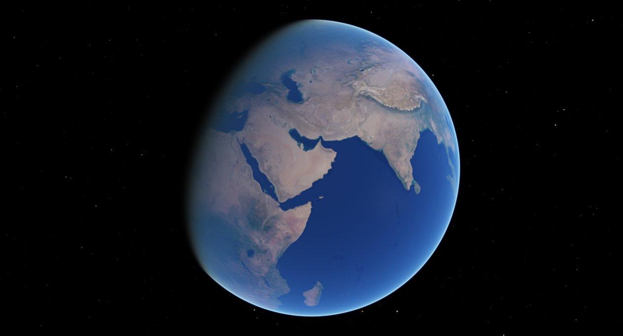 scr00072 | Атмосфера: вид из космоса и с поверхности