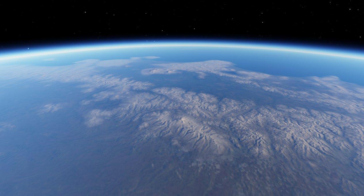 scr00074 | Атмосфера: вид из космоса и с поверхности