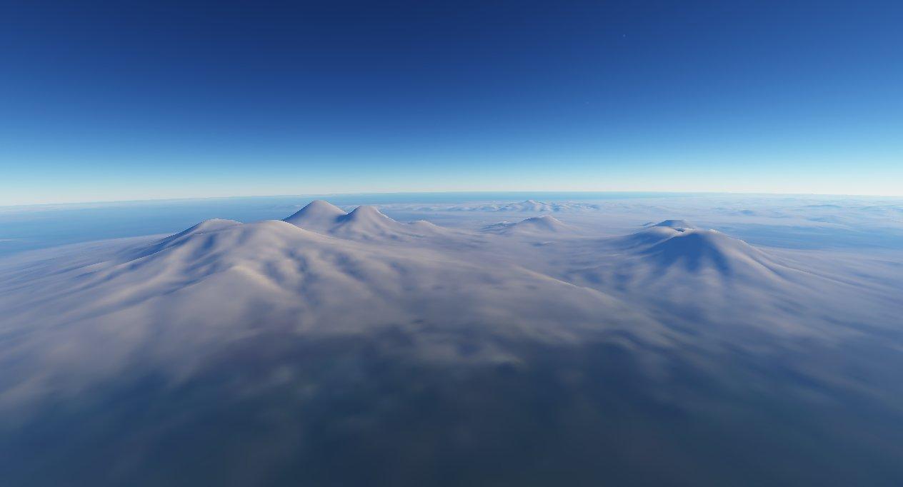scr00075 | Атмосфера: вид из космоса и с поверхности