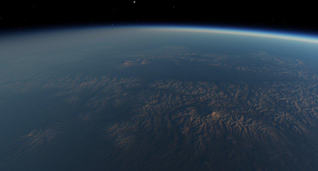 scr00077 | Атмосфера: вид из космоса и с поверхности