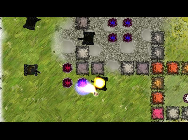 scr2 | Infinity v0.4 (22.10.2008) - аркада с возможностью отката времени