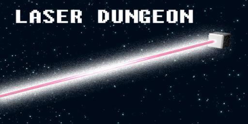 Laser Dungeon Splash Screen | Laser Dungeon (Space Dungeon clone from ATARI)