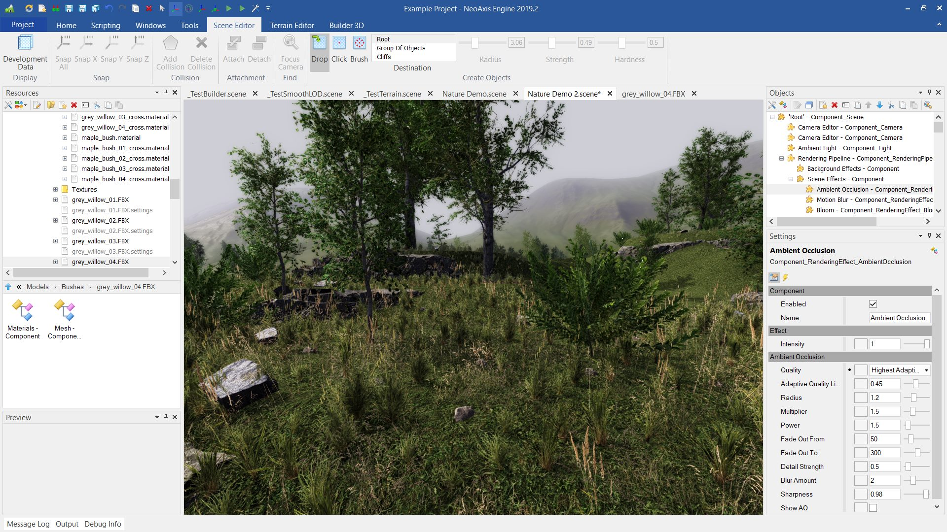 NeoAxis Engine 2019.3 | Вышел NeoAxis Engine 2019.3