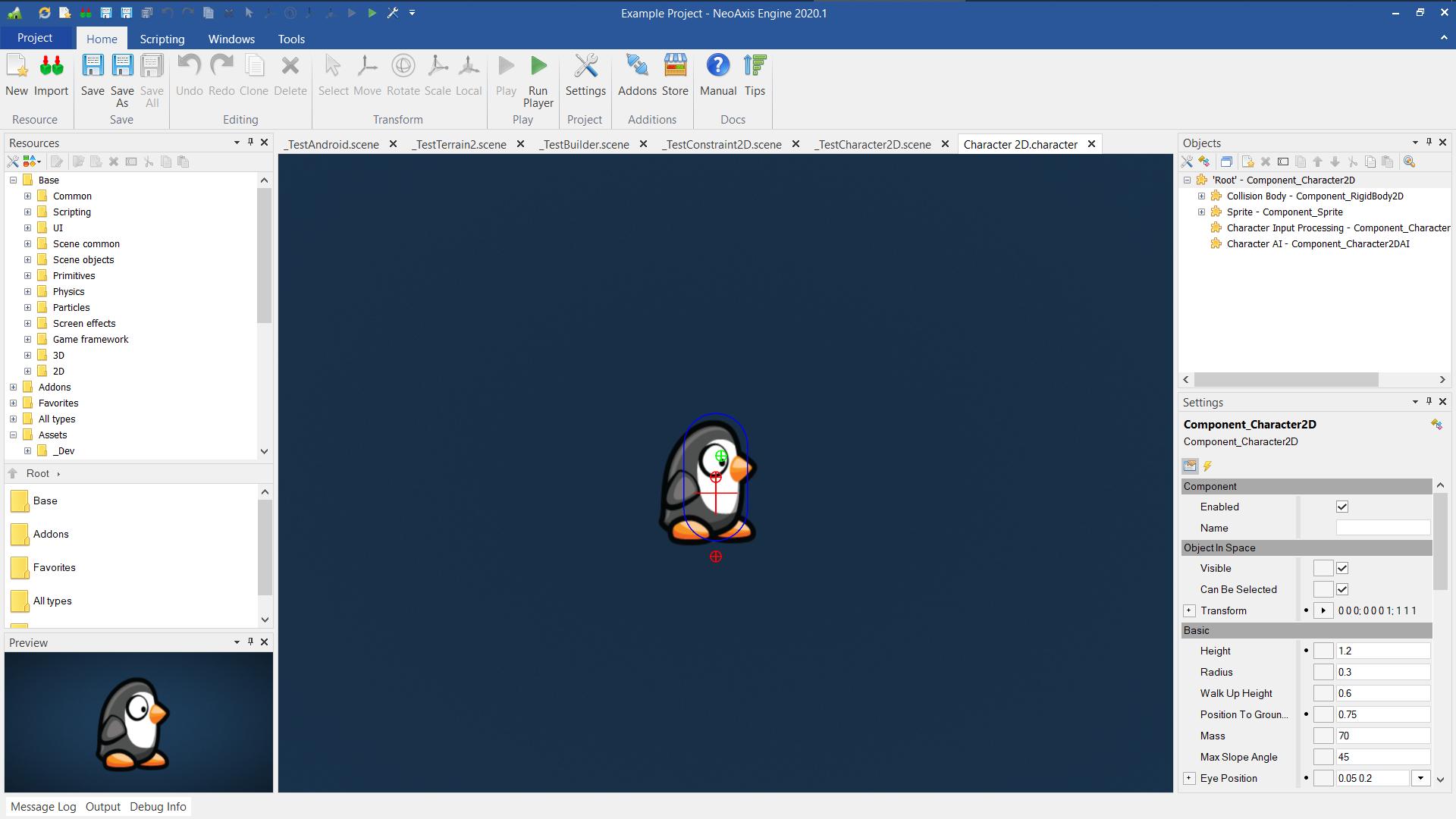NeoAxis Engine 2020.1 | Вышел NeoAxis Engine 2020.8 (теперь open source)