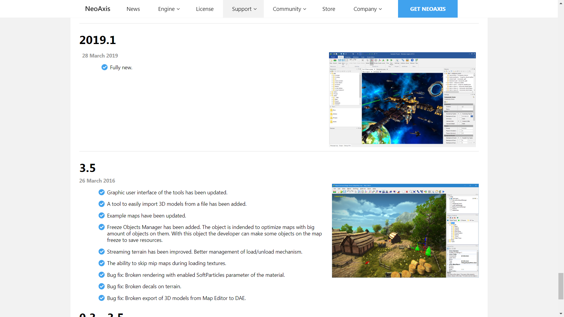 NeoAxis Engine History | NeoAxis Engine, 3D/2D игровой движок, теперь Open Source (комментарии)
