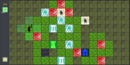 Защита башни - карта