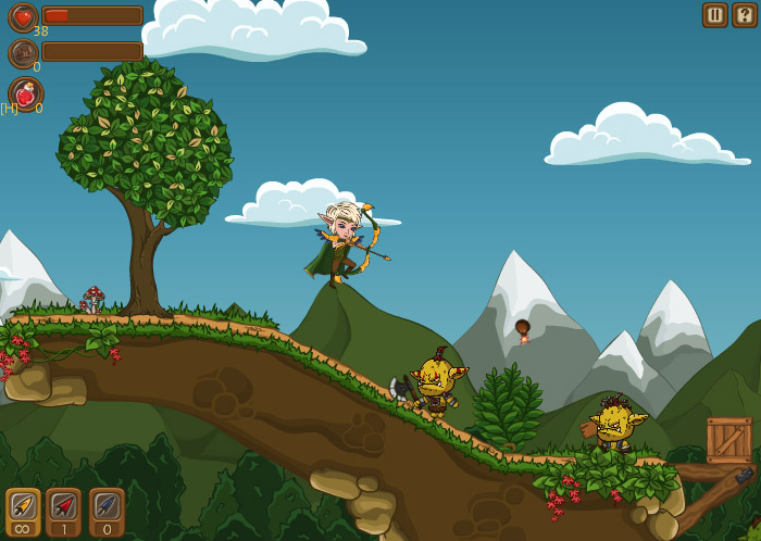Screenshot_21 | Brave Elf (фентези платформер)