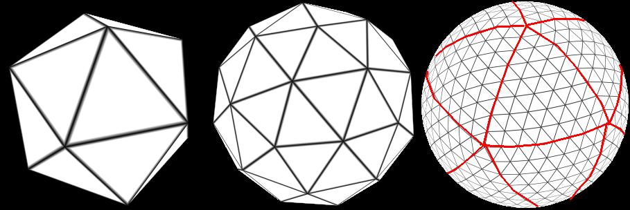 segments | Текстурирование сферы.