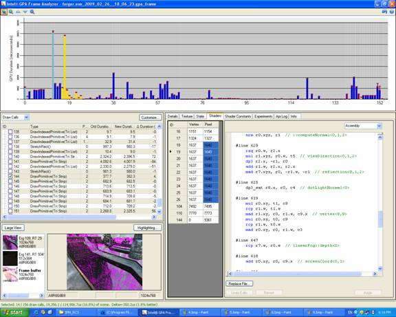 Shader_Access | Intel Graphics Performance Analyzers (Intel GPA) 2.0.