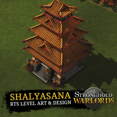 Shalyasana map for Stronghold Warlords