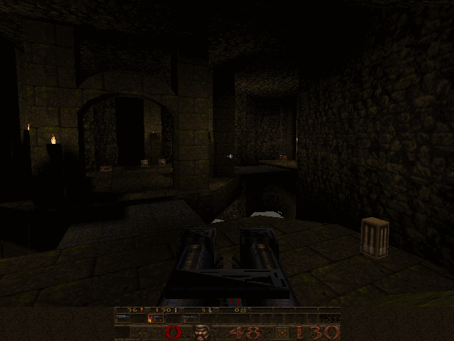 shot07 | Тестирование софт рендера Quake.