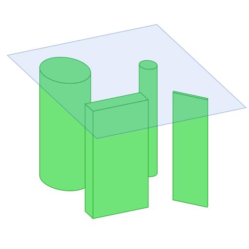 Single extruded 3d tile | Предрасчёт рейкаста для эффективного рендеринга травы и меха