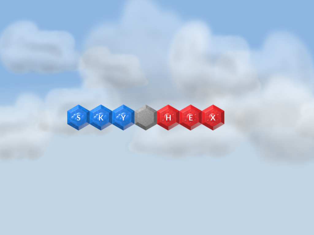 Sky Hex free puzzle game screenshot intro
