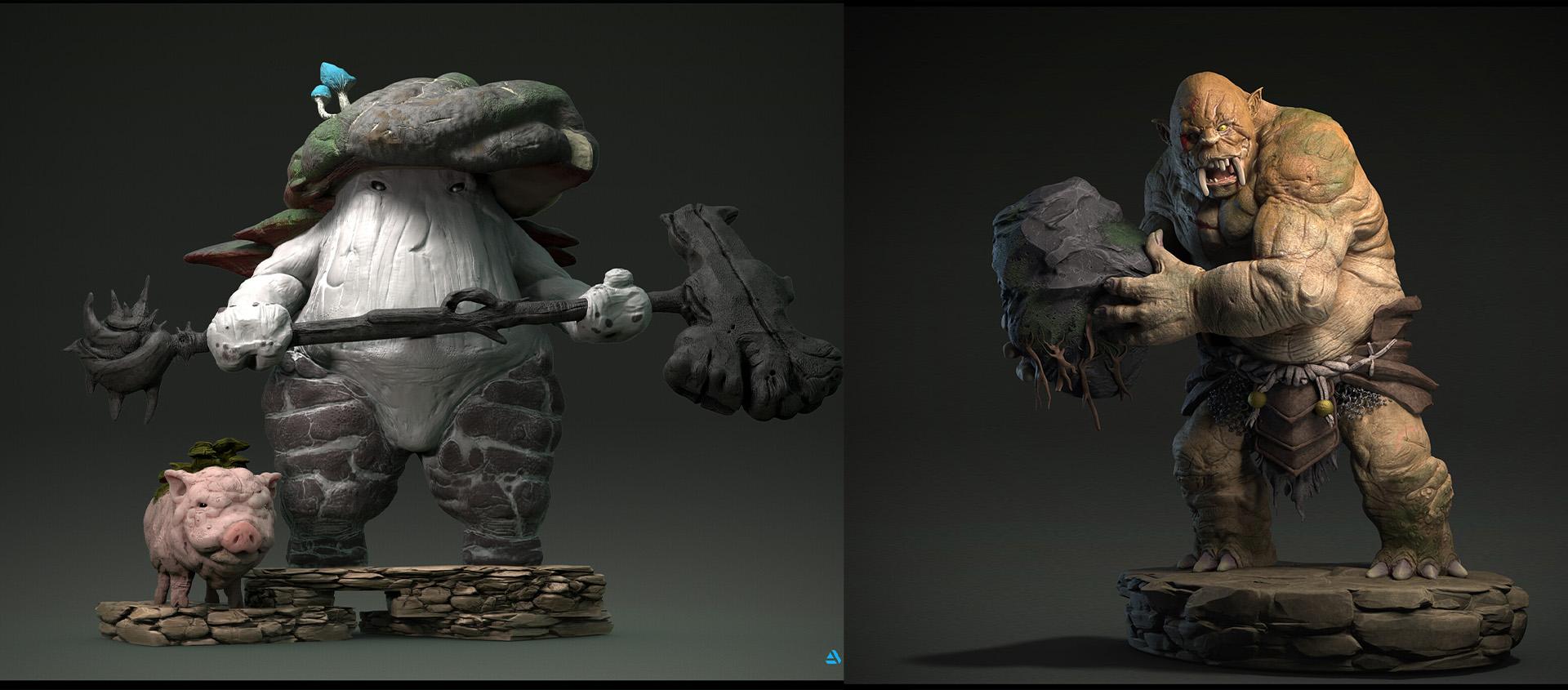 03 | 3D Character artist/ 3D Художник Персонажей