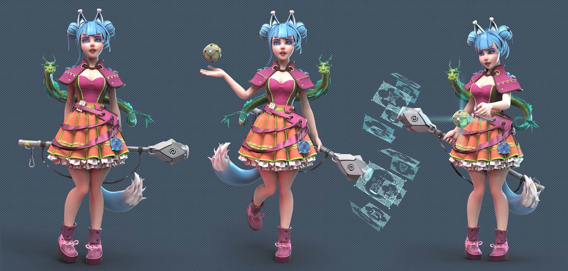 01 | 3D Character artist/ 3D Художник Персонажей